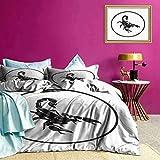 Tagesdecken Bettdecke Silly Fairy Fire Dragons Allzweck-Bettwäsche-Sets halten Sie nur warm genug ohne Überhitzung
