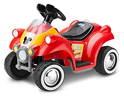 Disney Mickey Mouse 6V Toddler KT1122 Ride On, Quad from Pacific Cycle, Inc. (Dropship)