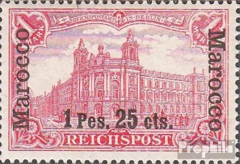 Prophila Collection Tedesco. Post Marocco 16I 1900 Geruomoia-Stampa (Francobolli per i Collezionisti)