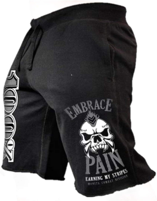 Oz Gym Wear Mens Gym Shorts Black Fashion-Embrace Pain