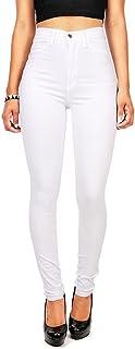 Vibrant Women's Juniors Classic High Waist Denim Skinny Jeans