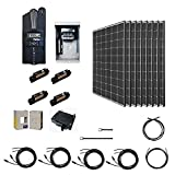 Renogy 2500 Watt 48 Volt Monocrystalline Kit with 8 Pcs of 320W Panel and Midnite MPPT Controller, 2500W, Off-Grid Solar System...