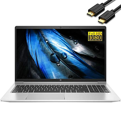 "2021 HP ProBook 450 G8 15.6"" IPS FHD 1080p Business Laptop (Intel Quad-Core i5-1135G7 (Beats i7-8565U), 16GB RAM, 512GB PCIe SSD) Backlit, Type-C, RJ-45, Webcam, Windows 10 Pro + IST HDMI Cable"