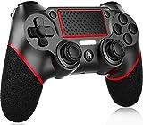 Mando para PS4, Controlador Joystick De Juegos Inalámbrico Gamepad, Textura Antideslizante, Gyro de 6 Ejes y Conector de Audio, para Playstation 4 / Pro/Slim/PS3/PC/Laptop