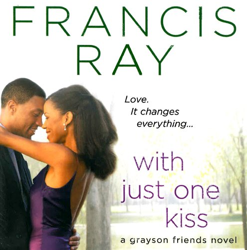 With Just One Kiss audiobook cover art