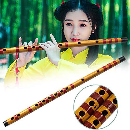 Neues 1 PC-Beruf Flöte Bambusmusikinstrument Handgemachtes for Anfänger Studenten XD88 ( Color : Flute )