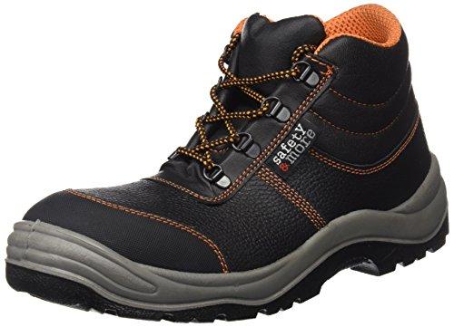 Sicherheitsstiefel S3 2442-0-100-41 Stiefel, Stahlkappe- Unisex Schneestiefel & Stiefel, Größe 46, Farbe: schwarz