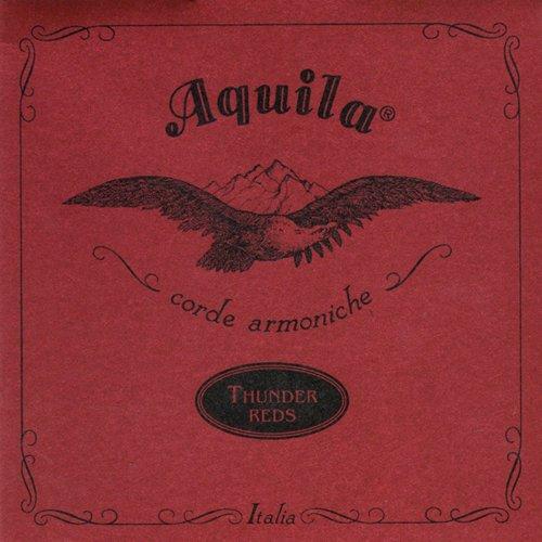 Aquila 91U THUNDER REDS®, BASS Ukulele/Ashbory Set 4-string, GDAE Tuning