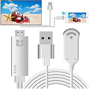Wireless Display Adapter, HuiHeng WiFi Wireless HDMI Dongle 1080P HDTV Adapter, Support DLNA & Miracast & AirPlay Mirroring Screen for iOS Android Smartphones Wiondows MacOS Laptops