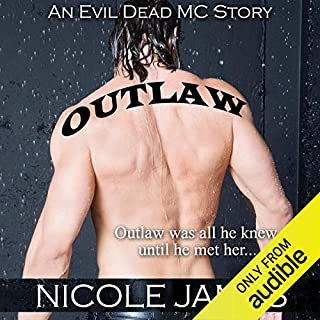 Outlaw: An Evil Dead MC Story audiobook cover art
