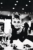 Close Up Audrey Hepburn Breakfast at Tiffany's Poster