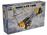 Trumpeter 3214 - Modellino di Aereo Junkers Ju-87B-2 Stuka, da Costruire, in Scala 1:32...