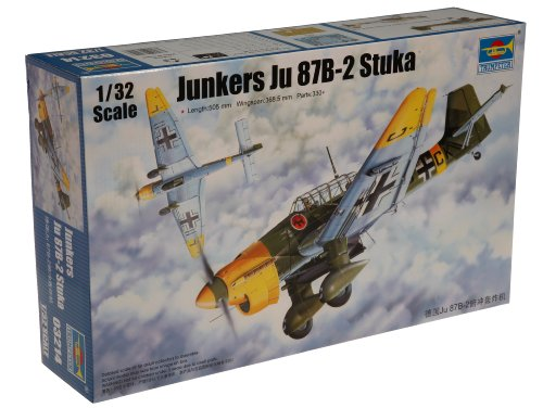 Trumpeter 3214 Modellbausatz Junkers Ju-87B-2 Stuka