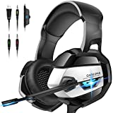 ONIKUMA PS4 Headset -Xbox One Headset Gaming Headset Noise Canceling...