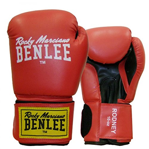 BENLEE Boxhandschuhe RODNEY PU (Rot, 10 oz)