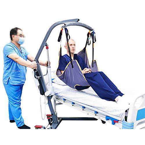 510a+hza93L - WLKQ Cinturón de Transferencia médica de elevación - Grúa de Paciente - Paciente Cinturón De Transferencia para Bariátrico, Enfermería,Anciano, Discapacitado, Cuerpo Completo Y Postrado En Cama