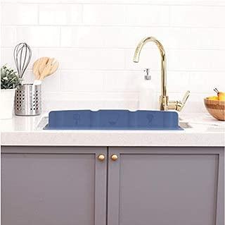Mia Home Silicon Kitchen Sink Water Splash Guard (Grey)