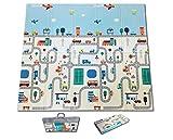 Fun N Well Foldable XPE Baby Play Mat | King Size 197x178x1cm |
