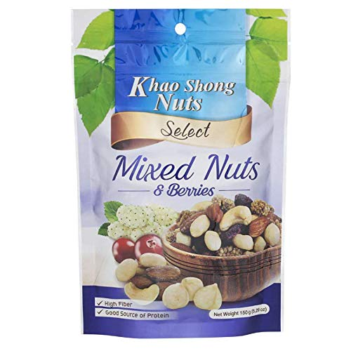 Khao Shong Dedication Nuts Mixed Houston Mall and Berries oz 150g 5.29