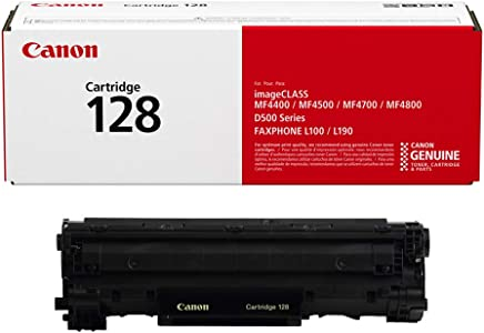 Canon Original 128 Toner Cartridge - Black (3500B001AA)