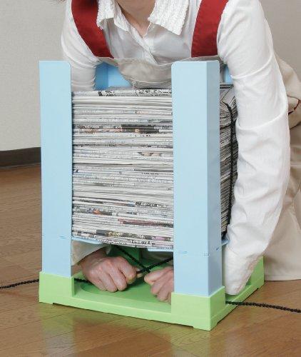 蝶プラ工業『らくらく新聞しばり』