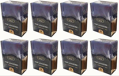 200 Ultra CBG 3 x 4 Premium Toploader Card Holders Pro Topload for Baseball Trading Cards