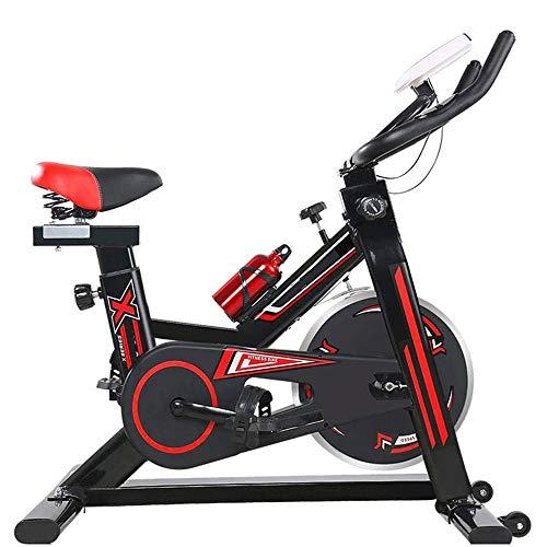 Pedales bicicleta estatica Bicicleta estática, Ciclismo Indoor bicicleta estacionaria, Bicicleta estática, cromado del volante, Silent transmisión por correa, WithThere son super suave Cojines, aquí s