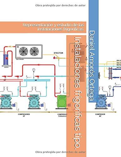 Instalaciones frigoríficas tipo.: Representación y estudio de las instalaciones frigoríficas.