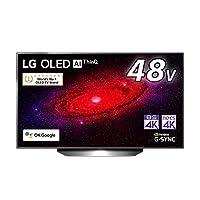 LG 48型 4Kチューナー内蔵 有機EL テレビ OLED 48CXPJA Alexa 搭載 2020 年モデル
