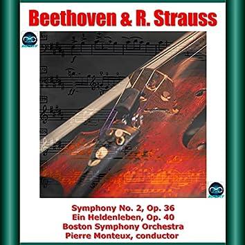 Beethoven & R. Strauss: Symphony No. 2, Op. 36 - Ein Heldenleben, Op. 40