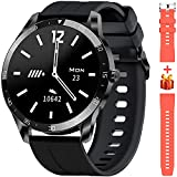 Blackview Smart Watch for Android Phones and iOS Phones, Smart Watches for Men Women, Fitness Tracker Watch with Heart Rate Sleep Monitor, 1.3' Full Touch Screen, 5ATM Waterproof Pedometer(46mm)…