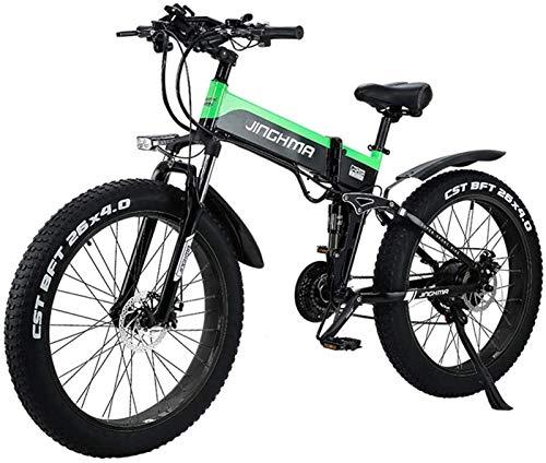 RDJM Bici electrica, Bicicleta de montaña eléctrica de 26