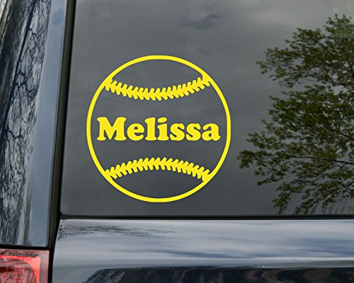 softball window decals - 8