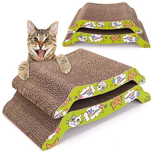 Aida Bz Pet Cat Scratch Board Carton ondulé Feuille de Papier ondulé Cat Scratch Board M Arch Bridge Type S canapé Type Cat Griffe Conseil,C,S