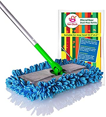 VanDuck Microfiber Dust Mop Pad Compatible with Swiffer Sweeper