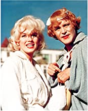 Some Like It Hot Marilyn Monroe And Jack Lemon In Robes 8 x 10 Photo