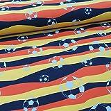 Schickliesel Jersey Stoff Meterware Fußball