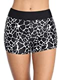Top Choice for Waistband Support: Sociala Women's Boyleg Swim Shorts