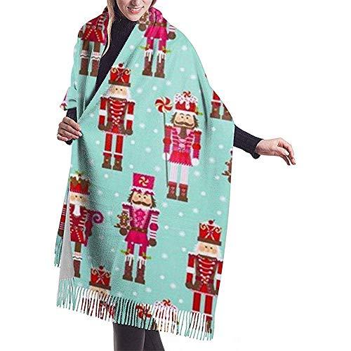 Laglacefond soldat-notenkraker vrouwen sjaal-winter-verpakking-kop-sjaals