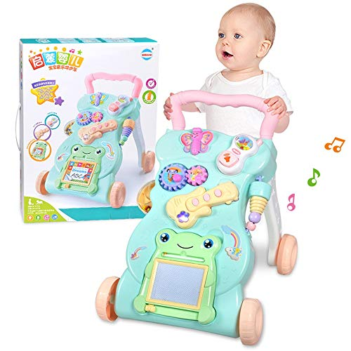 Buy Discount Btybess Baby Walker for Toddlers and Infants 0-2 Years Old Baby Multifunctional Music P...