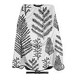 Weihnachtsbaum Kiefer Tanne Feiertage Haarschnitt Schürze Kap zum Haarschneiden Haar Dauerwelle Haarfärbung Haarstyling für Friseur Kosmetikerin Erwachsene Frauen Männer 55 X 66 in