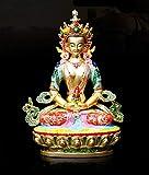 LKXZYX Boda Decoracion Buda budas Figuras de Grandes Salon candelabros Jardin Exterior Estatua de Bu...