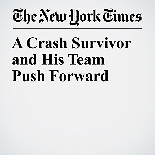 A Crash Survivor and His Team Push Forward copertina