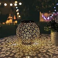 Pearlstar Outdoor Hanging Big Copper Decorative Garden Lights