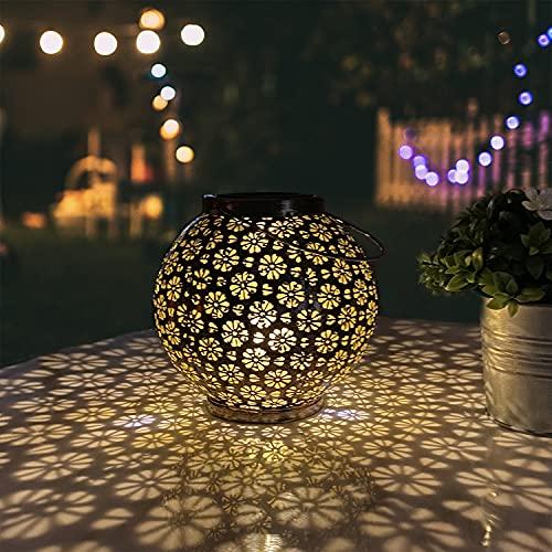 Pearlstar Solar Lantern Outdoor Hanging Lights Only $11.20 (Retail $30.99)