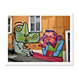 Doppelganger33 LTD Graffiti Mural Street Wall Talking