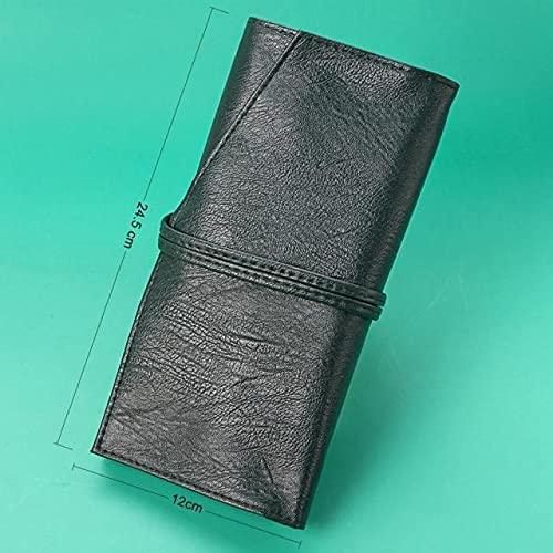 Paquete Verde Vrdios 14pcs maquillaje de la cara del sistema de cepillo cosmético Fundación Powder Blush Lip Mezcla de sombra de ojos Maquillaje cepillo del sistema de kit con bolsa de herramientas