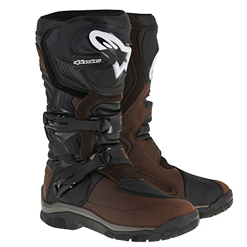 Alpinestars Unisex-Adult Corozal Adventure Drystar Boots Brn Oiled Leather Sz 12 (Multi, one_size)