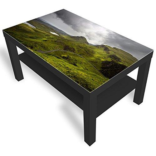 Ikea Schottlands Table basse en verre avec plateau en verre
