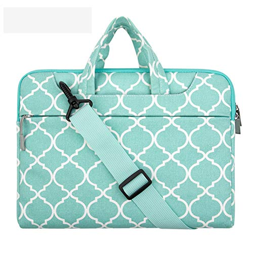 YHDNCG Canvas laptop protective sleeve shoulder bag 11 13 14 15 15.6-inch laptop case bag